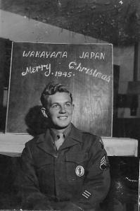 Jack, Christmas, 1945