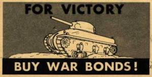 War Bonds WWll Poster