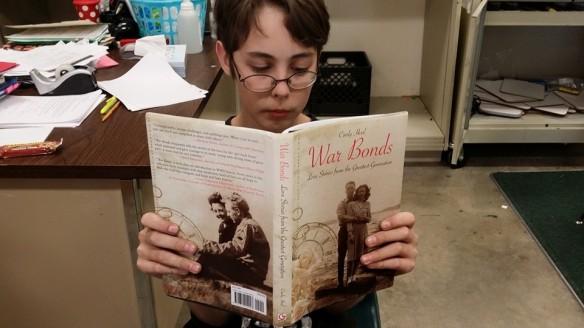 Young War Bonds reader