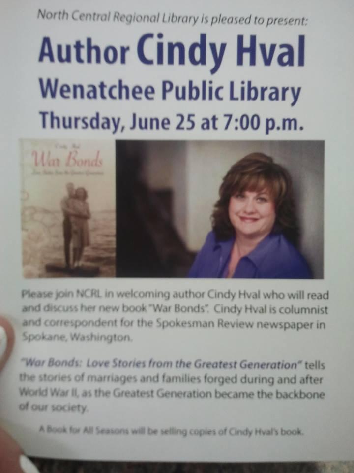 War Bonds in Wenatchee and Leavenworth