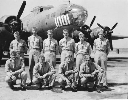 Louis and flight crew 1944 low res