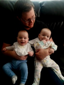 Sam and twins